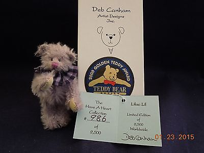Deb Canham Have a Heart Collection Lilac Lil LE 986/2500i