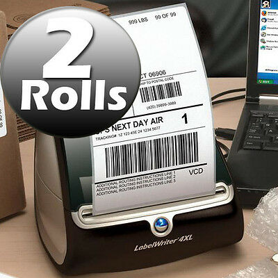 DYMO 4XL Direct Thermal Shipping Labels 4x6 ( 2  rolls ) 1744907 compatible