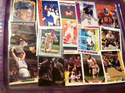Random Multi-Sports Card Lot (30) Get All Pictured.+ an AUTO or RELIC CARD!