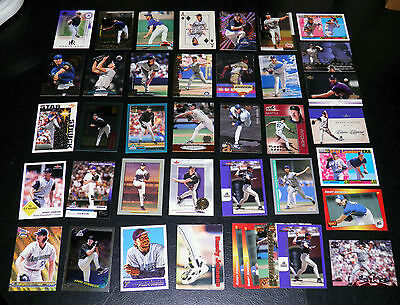 RANDY JOHNSON LOT OF 40 WITH 35 DIFFERENT ALL NRMT OR BETTER