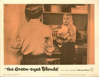 Green-eyed Blonde, The 11x14 Lobby Card #3