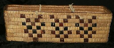 Antique NW Coast Native American Indian Salish Thompson River Berry Basket