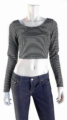 Material Girl NEW Womens XXS Rayon Shirt Top Pull Over Scoop Neck CHOP 579Pz1