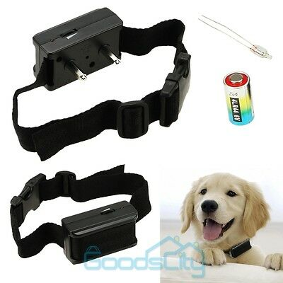 Static Anti Bark Shock Training Collar No Barking for Small Med 5-150 Pound Dogs