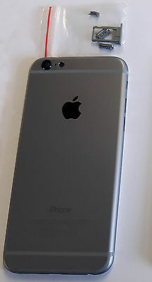 New Iphone 6 Space Grey Black Charcoal Replacement Back Housing Battery Cover