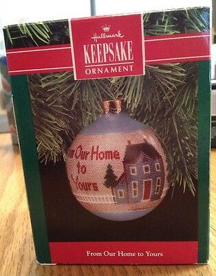 Hallmark Keepsake Ornament (From Our Home To Yours (1990)