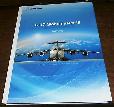 Book about the C-17 Globemaster III Boeing Military Airlifter USAF