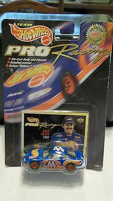 1996 Hot Wheels Pro Racing Kyle Petty's Hot Wheels #44 Car with Collectors Card