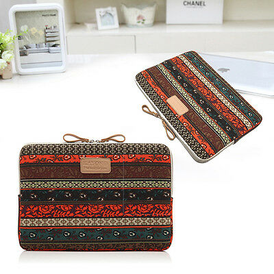 "14"" INCH Pastoral Notebook Laptop Sleeve Bag Cover For Macbook Air Pro Retina"