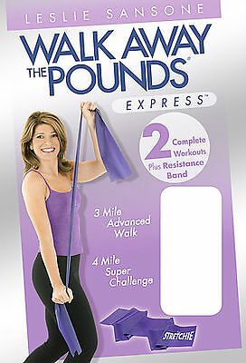 Leslie Sansone - Walk Away the Pounds Express 2 Workouts w/Resistance Band