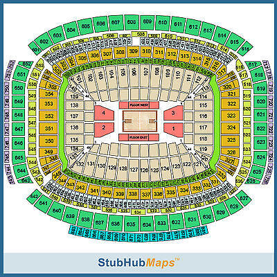 2 Tickets - NCAA Tournament Session 2 South Regional Tickets 03/29 (Houston)