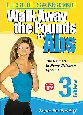 Walk Away the Pounds for Abs with Leslie Sansone - Three Miles: Super Fat...