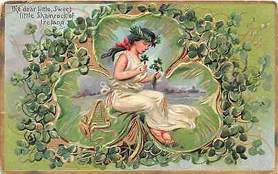 Lot of 2 Early/Vintage Tuck & Son's St. Patrick's Day Postcards #44033
