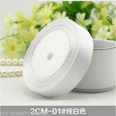 """Special offer Free Shipping 7/8"""" 20MM 25 yards Wedding Party Craft Satin Ribbon"""