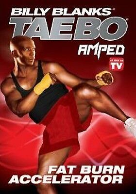 Billy Blanks Amped FAT BURN ACCELERATOR (DVD) tae bo taebo cardio workout NEW