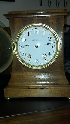 "RARE USA, 8 Day 1904 Seth Thomas ""Wales"" ""City Series"" Mahogany Mantle Clock"