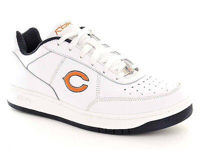 Chicago Bears Reebok Recline White NFL Shoes - Mens Size 8
