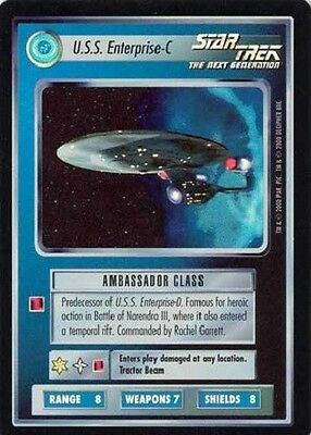 U.S.S. Enterprise-C - VR Foil - Star Trek CCG 1E Reflections - Decipher