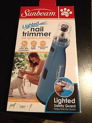 Pet Nail Trimmer By Sunbream. Parrots, Cats, Dogs & Birds