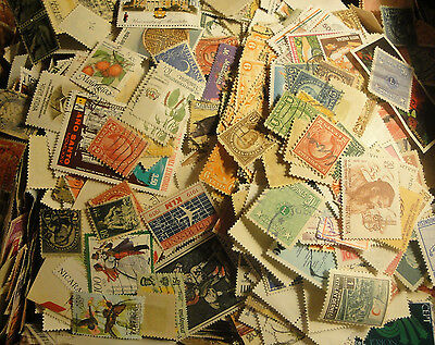 WORLDWIDE Postage stamps from Large Accumulation collection Lot mint/used 1000+