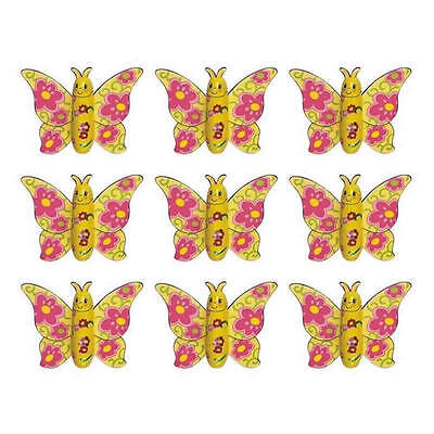 10 Milk Chocolate Butterflies - Fairy Kids Birthday Party Favours Candy Buffet