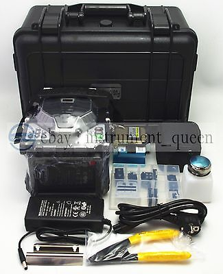 RY-F600P Fibre fusion splicer with Fiber Holders 5.6 inch TFT color LCD !!NEW!!