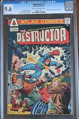 THE DESTRUCTOR  #1  (Atlas-Seaboard Comics 1975) CGC 9.6 NM+ - 1st Appearance