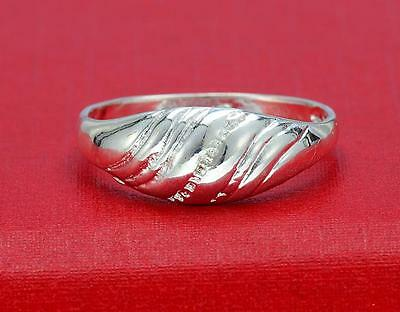 NEW 1PC 925 Sterling Silver Nice-Design Ring Sz.8