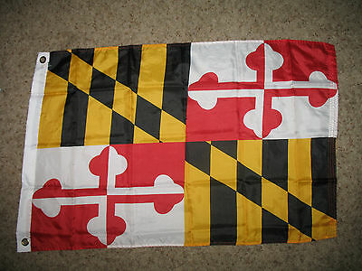 Wholesale Combo Lot 3x5 USA Flag & State of Maryland 2x3 Flag Banner