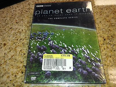 Planet Earth The Complete Series 5 DVD Set BBC VIdeo NEW!