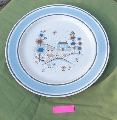 "Museum Collection Stoneware by Hearthside, Primitif - 10 1/2"" Country Plate (p)"