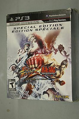 Street Fighter X Tekken: Special Edition  (Sony Playstation 3, 2012) ps3 sealed