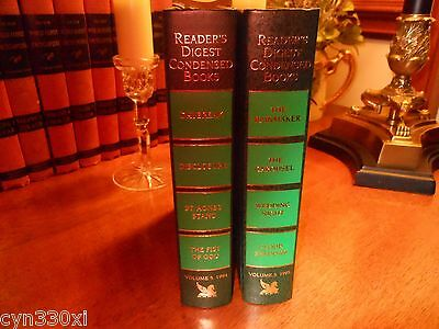 2 Readers Digest Condensed Books First Editions - Volume 5 1994 & Volume 5 1995