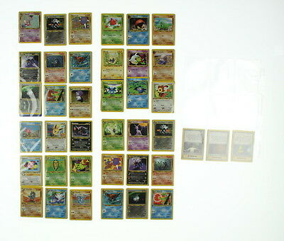 Lot of 75 POKEMON Neo Discovery Deck Full Set Cards 75/75 1st Editions Complete