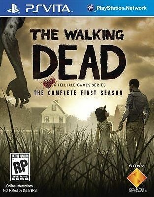 The Walking Dead The Complete First Season (Sony Playstation Vita, 2013) SEALED