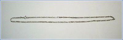 """Vintage .925 Silver Link Chain """"ITALY"""" province of Parma  Marked PR EI 18"""" long"""