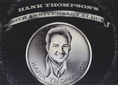 HANK THOMPSON - Three LPs (four records) for one low price!
