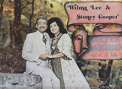 WILMA LEE and STONEY COOPER - duet LP, pus WILMA LEE solo LP for one low price!