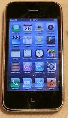 Apple iPhone 3GS - 16GB - Black (Factory Unlocked) Smartphone GSM AT&T