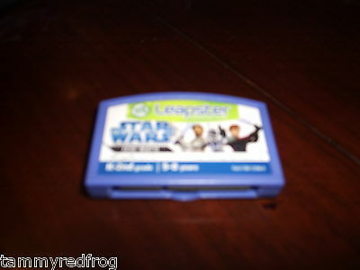 LOOK Leapster STAR WARS LEARNING FUN EDUCATIONAL Game Cartridge SAVE $ K-2ND