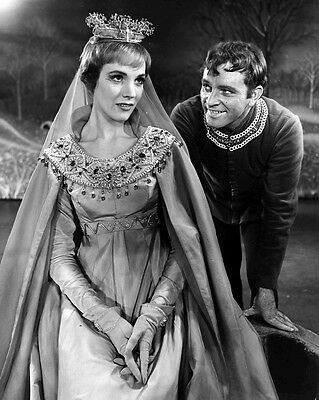 JULIE ANDREWS Broadway CAMELOT glossy 8x10 photo print photograph ACTRESS