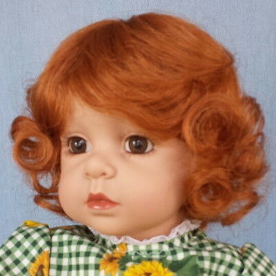 "Sweetie 12-13"" wig Carrot Red, by Monique, Lots of curls"