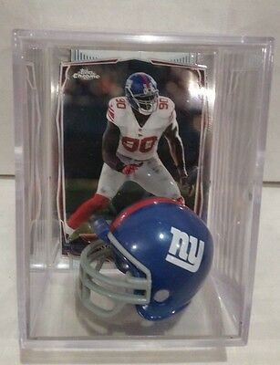 Jason Pierre-Paul New York Giants Mini Helmet Card Display Case Collectible