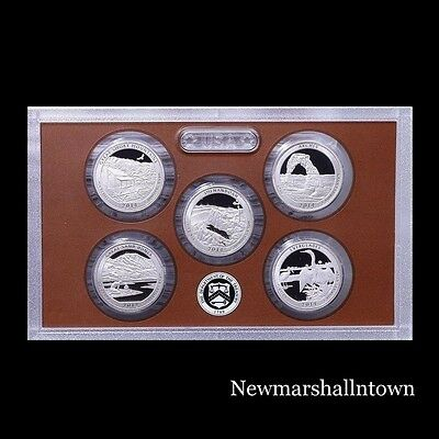 2014 S America the Beautiful National Parks ~ Mint Clad Proof Set in Lens Case