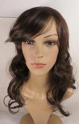 Women Girls Fashion Wavy Curly Long Hair Full Wigs Cosplay Party Wig #DALSY04
