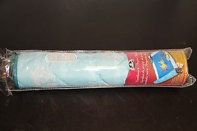 DMC Needlework Project Keeper Turquoise and White Floral Print Cross Stitch NIP