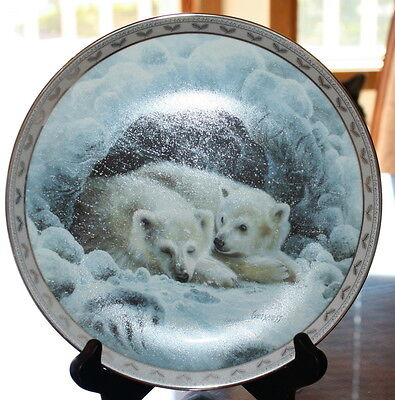 DREAMY WHISPERS COLLECTOR PLATE PEACE ON EARTH BRADFORD EXCHANGE