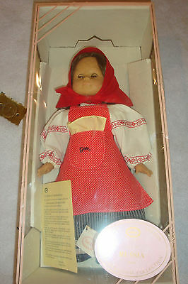 "RARE 19"" GOTZ DOLL W/ BOX & COA-LIMITED EDITION ONLY 132 MADE--NATASCHA RUSSIA"