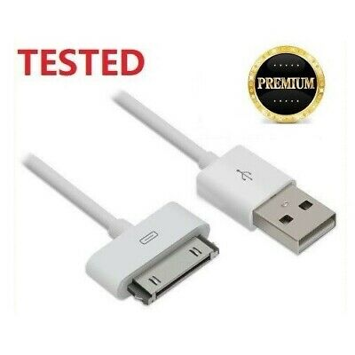 30Pin USB Data Sync Charger Cable Cord for iPhone 4S 4 3GS iPod Touch iPad 2 3