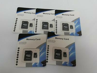 5x 128 GB Micro SD Class 10 Memory Card with Adapter - Shipping for free - Look